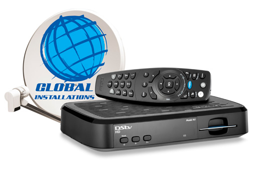 Global Installations, MultiChoice Accredited DSTV Installers, Quality Products And Services, Installations And Sales, Local South African Company.